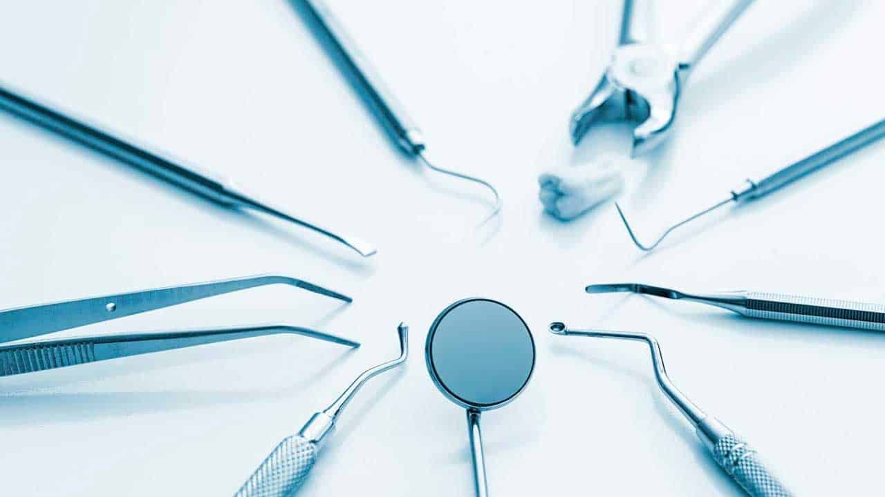 Instruments we use for guided tissue regeneration at King of Prussia Dental Associates.